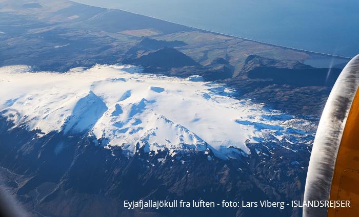 Vulkanerne i Island og Eyjafjallajökull