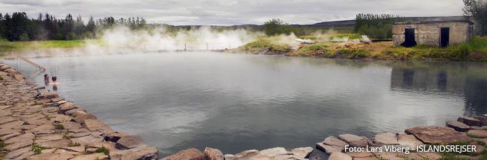 Secret Lagoon Geotermiske bade i Island med ISLANDSREJSER