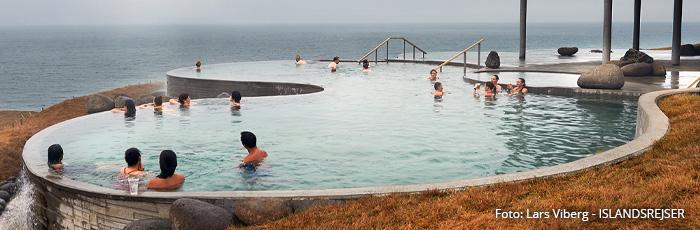 GeoSea Geotermiske bade i Island med ISLANDSREJSER