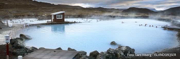 Myvatn Naturbade Geotermiske bade i Island med ISLANDSREJSER
