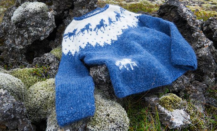 Smuk islandsk sweater fra artiklen hos ISLANDSREJSER