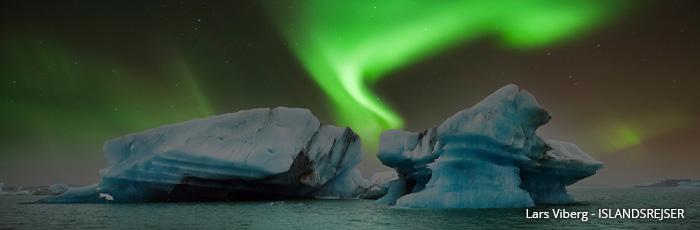Jökulsárlón gletsjerlagune på jeres kør-selv ferie og bilferie til Island med ISLANDSREJSER