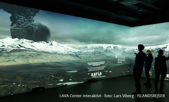 Vulkanerne i Island og Lava Center på kør-selv ferie i Island