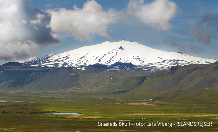 Vulkanerne i Island - Snæfellsjökull en udslukt vulkan