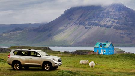 kør-selv ferie og bilferie Island