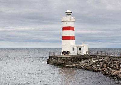 Gardaskagi fyr på Reykjanes-halvøen på kør-selv ferie bilferie og grupperejser i Island med ISLANDSREJSER