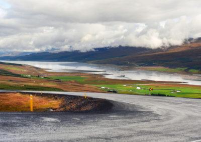 Lagarfljot ved Østfjordene på kør-selv ferie bilferie og grupperejser i Island med ISLANDSREJSER