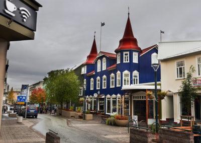 Akureyri på kør-selv ferie bilferie og grupperejser i Island med ISLANDSREJSER