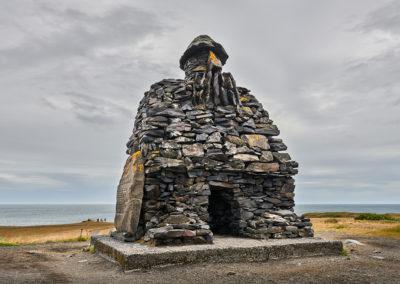 Trolden Bardur ved Arnarstapi, Snæfellsnes-halvøen på kør-selv ferie bilferie og grupperejser i Island med ISLANDSREJSER