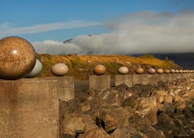 Djupivogur kustværk - æg af lokale havfugle på kør-selv ferie bilferie og grupperejser i Island med ISLANDSREJSER