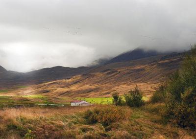 På vej til Akureyri på kør-selv ferie bilferie og grupperejser i Island med ISLANDSREJSER