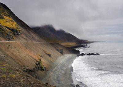 På vej mod Østisland på kør-selv ferie bilferie og grupperejser i Island med ISLANDSREJSER