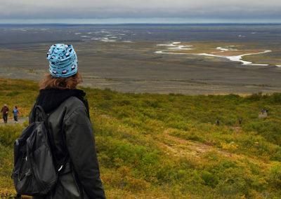 Udsigt ved Skaftafell på kør-selv ferie bilferie og grupperejser i Island med ISLANDSREJSER