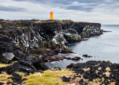 Svörtuloft på Snæfellsnes-halvøen på kør-selv ferie og bilferie i Island med ISLANDSREJSER