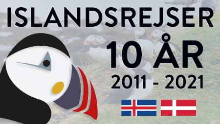 Rejser til Island med ISLDNASREJSER - dit rejsebureau til Island