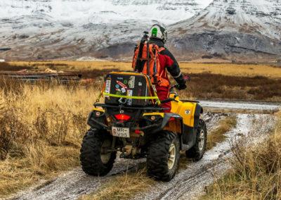 ATV er adrenalinkick de luxe på kør-selv ferie bilferie og grupperejser i Island med ISLANDSREJSER