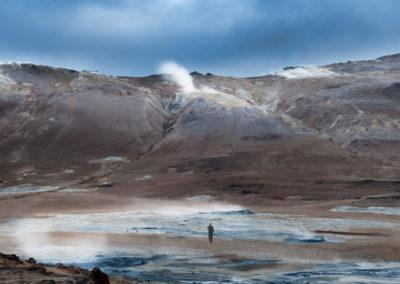 Namaskard geotermiske område ved Myvatn på kør-selv ferie bilferie og grupperejser i Island med ISLANDSREJSER