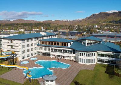 Hotel Örk på kør-selv ferie bilferie og grupperejser i Island med ISLANDSREJSER