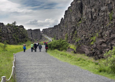 Aktiviteter og dagture i Island med ISLANDSREJSER - Gyldne Cirkel