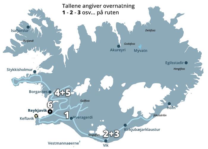 Kør-selv ferie, bilferie og rejser til Island med ISLANDSREJSER