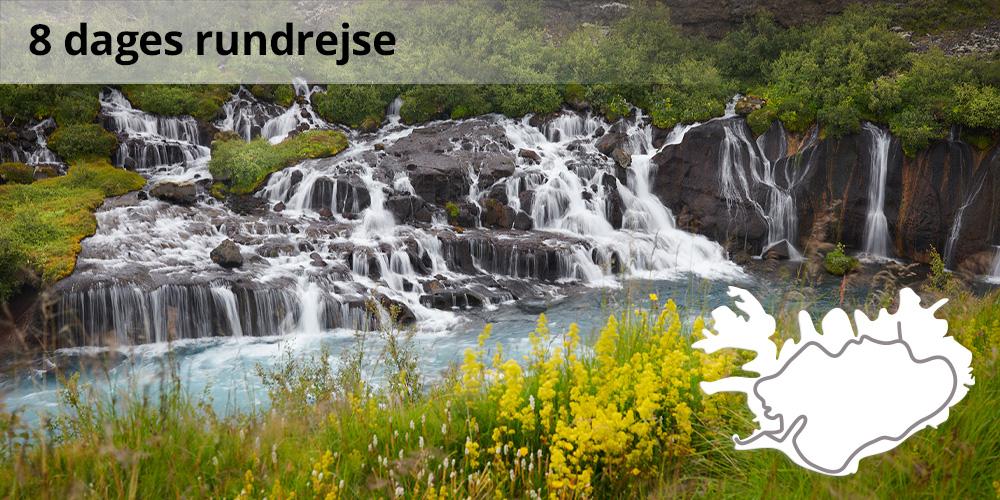 Grupperejser til Island - rundrejse med dansktalende guide