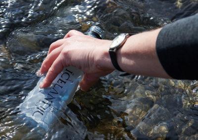 Det reneste drikkevand i verden i Island på kør-selv ferie, bilferie og rejser til Island med ISLANDSREJSER