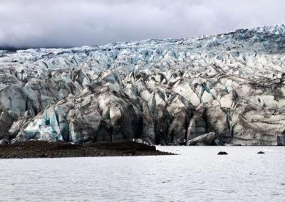 Gletsjeren ved Kverkfjöll-gletsjertunge ved Vatnajökull på kør-selv ferie, bilferie og rejser til Island med ISLANDSREJSER