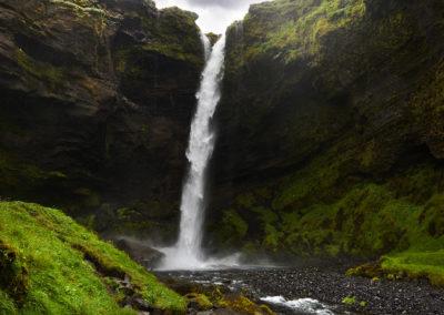 Kvernufoss på kør-selv ferie, bilferie og rejser til Island med ISLANDSREJSER