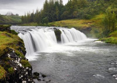 Reykjafoss i Hveragerdi på kør-selv ferie, bilferie og rejser til Island med ISLANDSREJSER