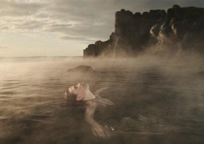 Sky Lagoon geotermisk spa i Reykjavik - rejser til Island med ISLANDSREJSER