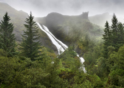 Systrafoss i Kirkjubæjarklaustur på kør-selv ferie, bilferie og rejser til Island med ISLANDSREJSER